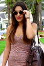 Light-pink-impressionist-billabong-dress-brown-tote-coach-bag