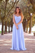 sky blue Msdressy dress