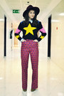 Persunmall-sweater-miu-miu-pants