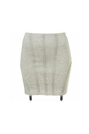 gray Topshop skirt