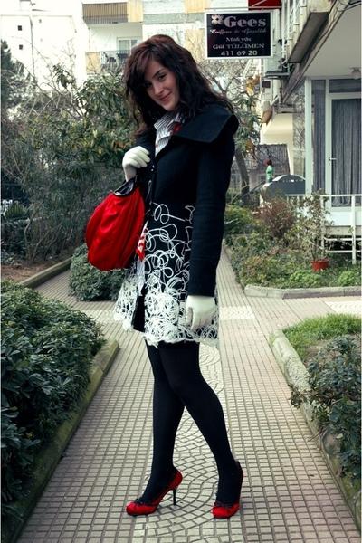 Rinascimento coat - Zara men shirt - skirt - Cutesy shoes - accessories - Park B