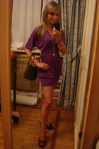intimissimi dress - ASH shoes - Fendi purse - Fendi necklace - Louis Vuitton bra