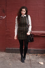 Army-green-wool-in-god-we-trust-nyc-dress