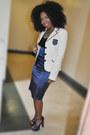 Navy-shoes-white-blazer-navy-skirt