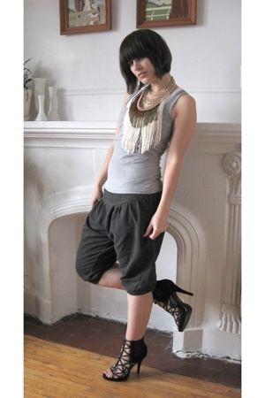 aa top - pants - GoJane shoes - norwegian wood necklace