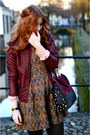 Crimson-stitched-jacket-dark-gray-suede-dolce-vita-boots