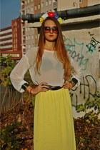 chiffon me&m skirt - chiffon me&m blouse