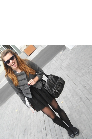 jacket - skirt -