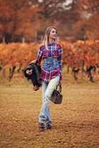Denim in a Vineyard
