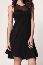 Cutout Little Black Dress