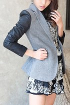 Chic Color Block Blazer