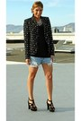 Star-print-zara-blazer-zara-heels-rhinestone-zara-necklace