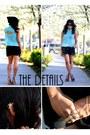 Magenta-nasty-gal-blazer-black-boy-meets-girl-shorts
