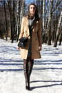 Gray-united-colors-of-benetton-dress-camel-zara-coat