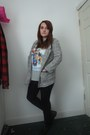 Black-primark-boots-black-topshop-leggings-silver-new-look-blazer