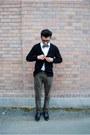 Black-steve-madden-shoes-white-express-shirt-olive-gap-pants-j-crew-tie