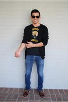 black detroit cobras shirt - crimson deck Bass shoes