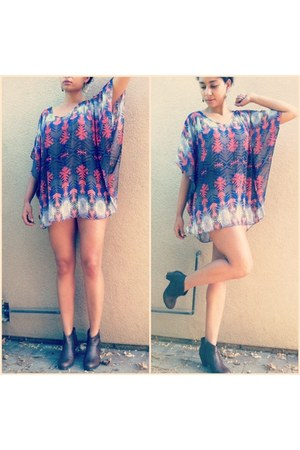 blue Forever21 top