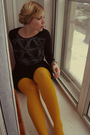 Black-finn-shirt-black-la-maison-simons-skirt-yellow-h-m-tights-silver-gap