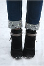 Camel-monton-cape-black-marco-tozzi-boots-navy-embellished-gina-tricot-jeans
