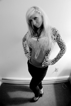 Leopard cardigan cardigan - Urban Outfitters top