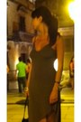 Olive-green-gianluca-bedin-dress-black-furla-bag-silver-accessorize-bracelet