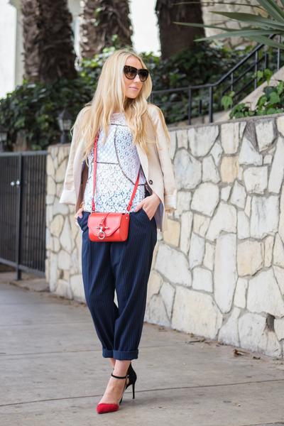 Givenchy bag - H&M pants