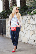 Givenchy bag - H&M pants