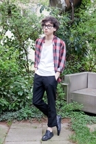 Ray Ban glasses - American Apparel t-shirt - Surface 2 Air shirt - H&M pants - S