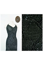 knit sequin St John dress