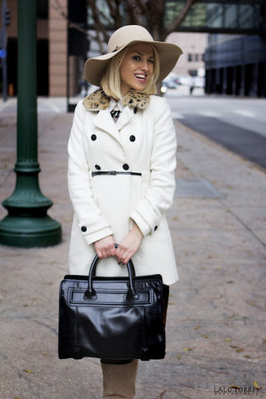Zara coat - Aldo hat - Zara bag