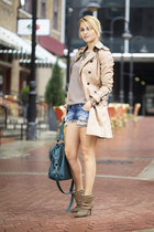 shorts + trench coat = possible