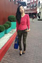 Topshop top - Zara pants
