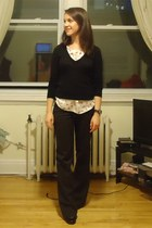 Barefoot Contessa blouse - black Talula sweater