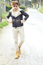 Zara jacket - Timberland shoes - Swing jeans - Zara shirt