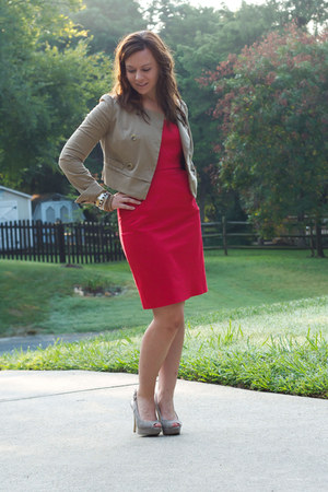 NY&CO dress - banana republic jacket - Enzo Angiolini pumps