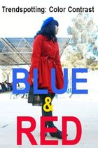 Trendspotting: Blue &amp; Red Color Contrast