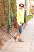 Aldo bag - zana di jeans - Reebok sweatshirt - Reebok sneakers