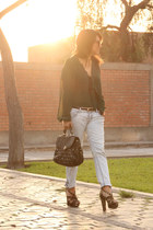 Coco Jolie blouse - Aldo shoes