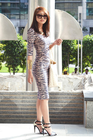 asos dress - Zara heels