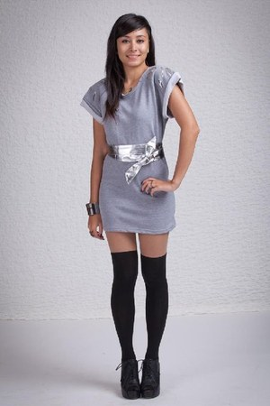 silver Poppy Lovers dress