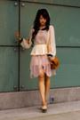 Neutral-peplum-chiffon-cameo-skirt-eggshell-style-stalker-shirt