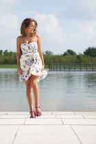 Sugarlips dress - Sergio Rossi sandals