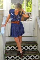 Urban Outfitters dress - Hallelu shoes - Hallelu accessories