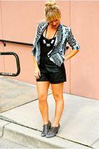 Forever 21 shorts - Steve Madden shoes - H&M jacket - Hallelu accessories