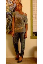 Prada shoes - thrift pants - Urban Outfitters t-shirt