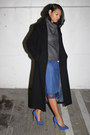 Anne-klein-coat-aritzia-sweater-vintage-skirt-dolce-vita-pumps