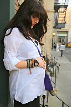 Rebecca Minkoff bag - Kenneth Cole boots - Baby G watch