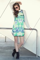 Pynk Nylon dress