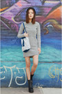 Two-piece-dress-ich22-dress-bucket-bag-q2han-bag